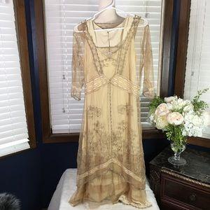 Nataya Titanic Victorian Lace Dress Size Small